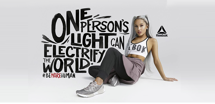 Ariana Grande Revealed as Face of Reebok's New Campaign